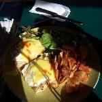 Best Southwestern Eggs Bennie!