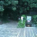 The entrance to Devil's Den...
