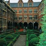 Plantin Moretus (printing) Museum inner garden
