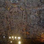 Detalle del techo del salón
