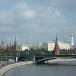 View of the Kremlin from Patriach's bridge
