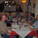 A meal at the Ancora Restaurant - Riva Del Garda