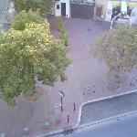 Vista desde ventana habitación (Plaza Bachelier)