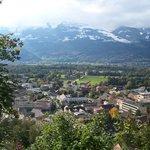 Vaduz from above