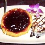 Blueberry Tart and Icecream