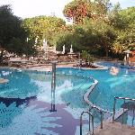 une des piscine au calme
