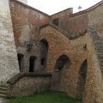 Entrance in prison (casemats, under castle)