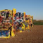 Cadillac Ranch. Amarillo, Texas