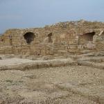 Theatre at Caesarea National Park ภาพถ่าย
