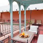 Coin dejeuner terrasse