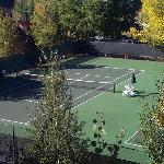 Trappeur's Crossing Resort tennis courts
