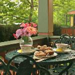 Afternoon Tea on the Porch