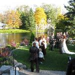Summer Island Tented Receptions or Small Indoor Receptions Year Round!