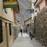 a street in Ollantaytambo