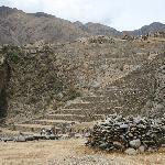 view of Ollantay ruins
