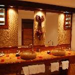 Salle de bain bungalow Banane