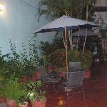 patio acogedor