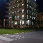 Resort Olympus by night