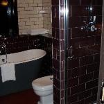The fab bathroom!