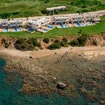 Al Mare Villas Aerial View