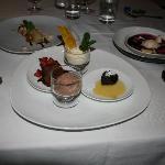 The desserts were so delicious!