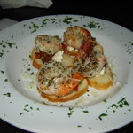 My fav shrimp bruschetta