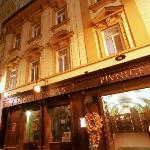 Hotel Pegas Brno - entrance