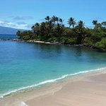 Beautiful quiet beach literally just steps away from Maui Beach House