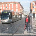The trams are really trendy and busy at one Euro per ride. Tip Buy 20 credits or so with credit