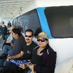 Us on the boat, on our Bass Pro fishing trip
