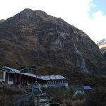 Machapuchre Base Camp @ 3,700m.