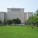 The main building of Tsinghua University