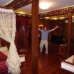 Huge room carved out of wood