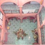 Inside Riad