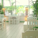 Bon Kitchen restaurant has a relaxing ambience