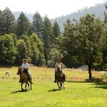 horse riding at California's guest ranch
