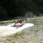 jet boat on the Lower Klamath