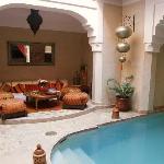 Riad Zolah's stunning inner courtyard