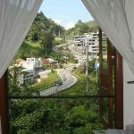view from a private single room at Karuna YMC.JPG