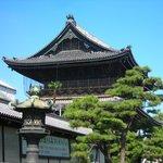 Higashi Hongan-ji Temple, in Kyoto.