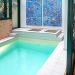 Piscine Paris-Oasis: 5,50mX 2,50m. Prof: 1,40 m