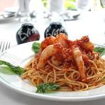 'Jerk' Shrimp Spaghetti