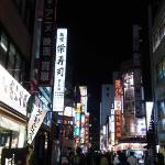 Shinjuku night scene (with new camera)