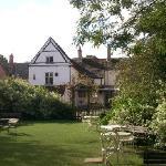 Swan Inn garden