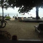 beachside of our villa