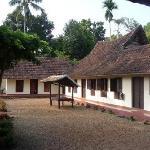 Pooppally's courtyard