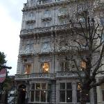 Facade of the hotel