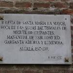 Placa de la Iglesia, Alcalá de Henares, Madrid