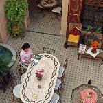 der romantische Innenhof