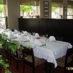 Restaurant ( ou est servi le déjeuner)